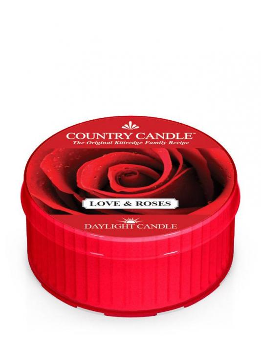 Country Candle - Love & Roses - Daylight (35g)