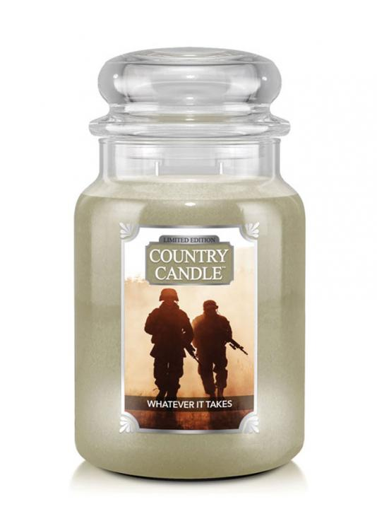 Country Candle - Whatever It Takes -  Duży słoik (680g) 2 knoty