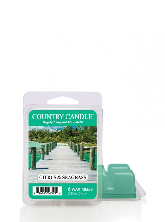 Country Candle - Citrus & Seagrass - Wosk zapachowy potpourri (64g)