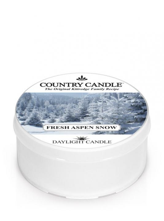 Country Candle - Fresh Aspen Snow - Daylight (42g)
