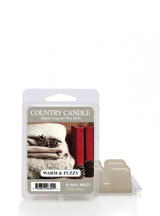 Country Candle - Warm and  Fuzzy - Wosk zapachowy potpourri (64g)