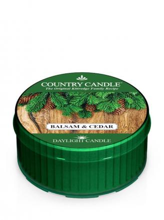 Country Candle  Balsam & Cedar  Daylight (35g)