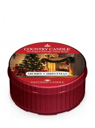 Country Candle  Merry Christmas  Daylight (35g)