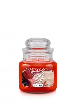 Country Candle  Flannel   Mały słoik (104g)