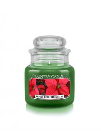 Country Candle  Home For Christmas   Mały słoik (104g)