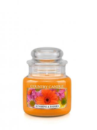 Country Candle  Sunshine & Daisies  Mały słoik (104g)