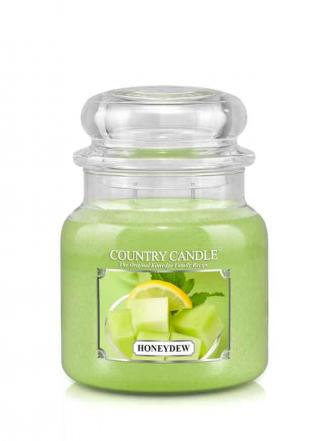 Country Candle  Honeydew  Średni słoik (453g) 2 knoty