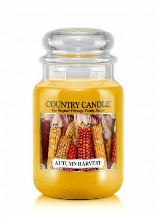 Country Candle  Autumn Harvest  Duży słoik (652g) 2 knoty