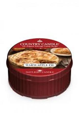 Country Candle  Warm Apple Pie  Daylight (35g)
