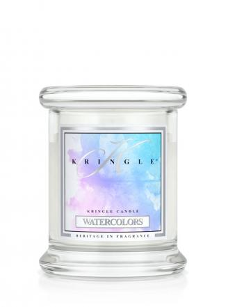 Kringle Candle  Watercolors  mini, klasyczny słoik (128g)