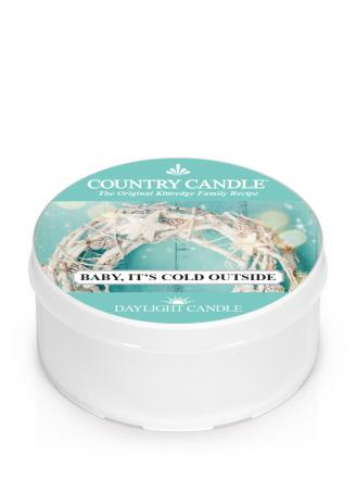 Country Candle  Baby It's Cold Outside  Daylight (35g)