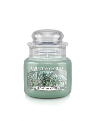 Country Candle  Frosty Branches   Mały słoik (104g)