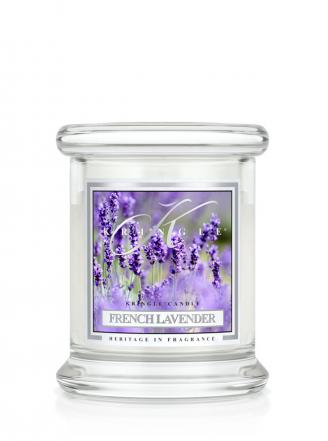Kringle Candle  French Lavender  mini, klasyczny słoik (128g)