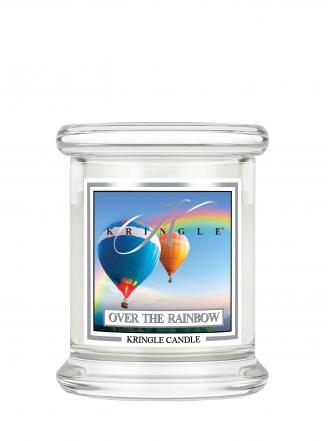 Kringle Candle  Over the Rainbow  mini, klasyczny słoik (128g)