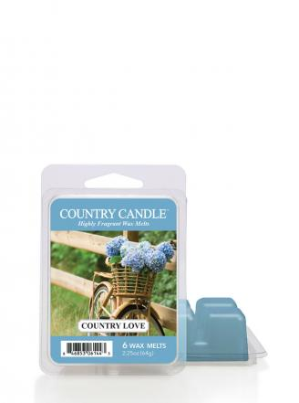 "Country Candle  Country Love  Wosk zapachowy ""potpourri"" (64g)"