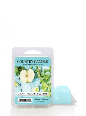 "Country Candle  Cilantro, Apple & Lime  Wosk zapachowy ""potpourri"" (64g)"