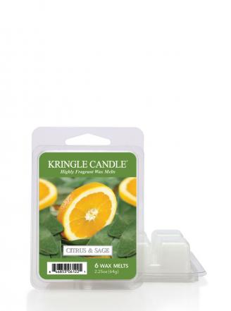 "Kringle Candle  Citrus and Sage   Wosk zapachowy ""potpourri"" (64g)"