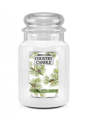 Country Candle  Fraser Fir  Duży słoik (680g) 2 knoty