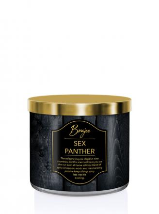 Kringle Candle   Sex Panther (Boujee)  Tumbler (411g) z 3 knotami