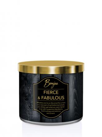 Kringle Candle   Fierce & Fabulous (Boujee)  Tumbler (411g) z 3 knotami
