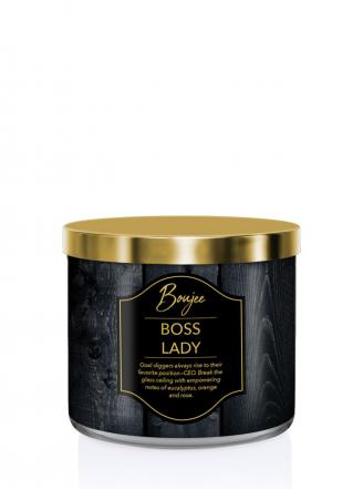 Kringle Candle   Boss Lady (Boujee)  Tumbler (411g) z 3 knotami