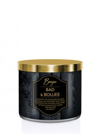 Kringle Candle   Bad & Boujee (Boujee)  Tumbler (411g) z 3 knotami