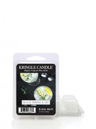 "Kringle Candle  Black Pepper Gin  Wosk zapachowy ""potpourri"" (64g)"