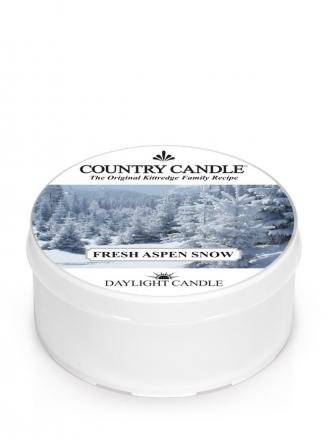 Country Candle  Fresh Aspen Snow  Daylight (42g)