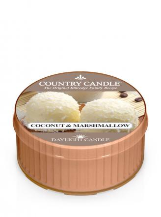 Country Candle  Coconut Marshmallow  Daylgiht (42g)