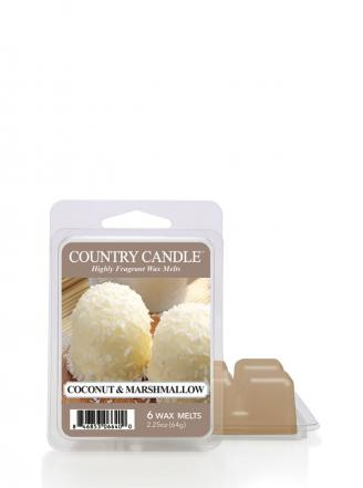 "Country Candle  Coconut Marshmallow  Wosk zapachowy ""potpourri"" (64g)"
