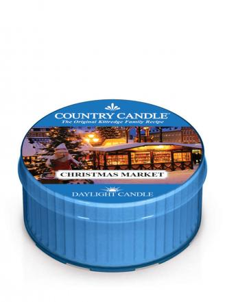 Country Candle  Christmas Market  Daylight (42g)