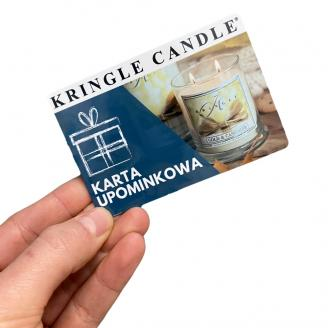 Kringle Candle  Karta Upominkowa