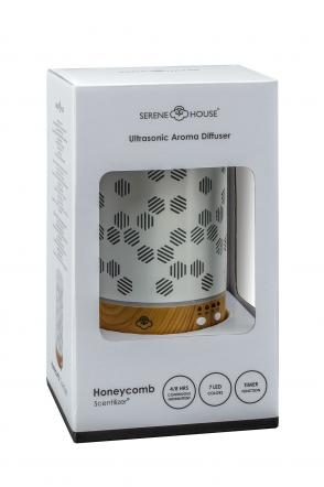 Serene House - Honeycomb - Dyfuzor do aromaterapii (Biały)